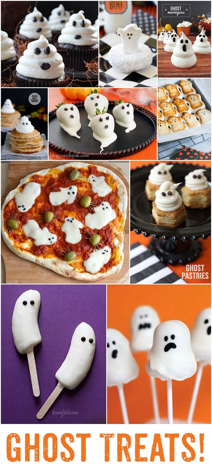 the best ghost treats for halloween - Great Halloween Appetizers
