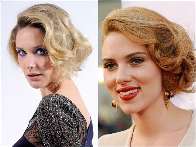 Corto o lungo, l'hairstyling mosso è molto versatile, si adatta alle diverse forme di viso, bastano pochi strumenti per realizzarlo e soprattutto, lasca libero sfogo alla fantasia. Scarlett Johansson lo sa bene, e con un carrè medio con onde tutte di lato gioca a fare la Marilyn dei nostri tempi.