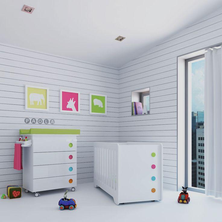 17 best images about habitaciones infantiles on pinterest - Habitaciones infantiles bebe ...