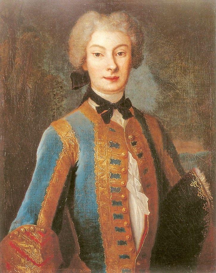 1730 Anna Karolina Orzelska by Louis de Silvestre (Royal Baths Palace - Park Lazienkowski, Warszawa)   Grand Ladies   gogm