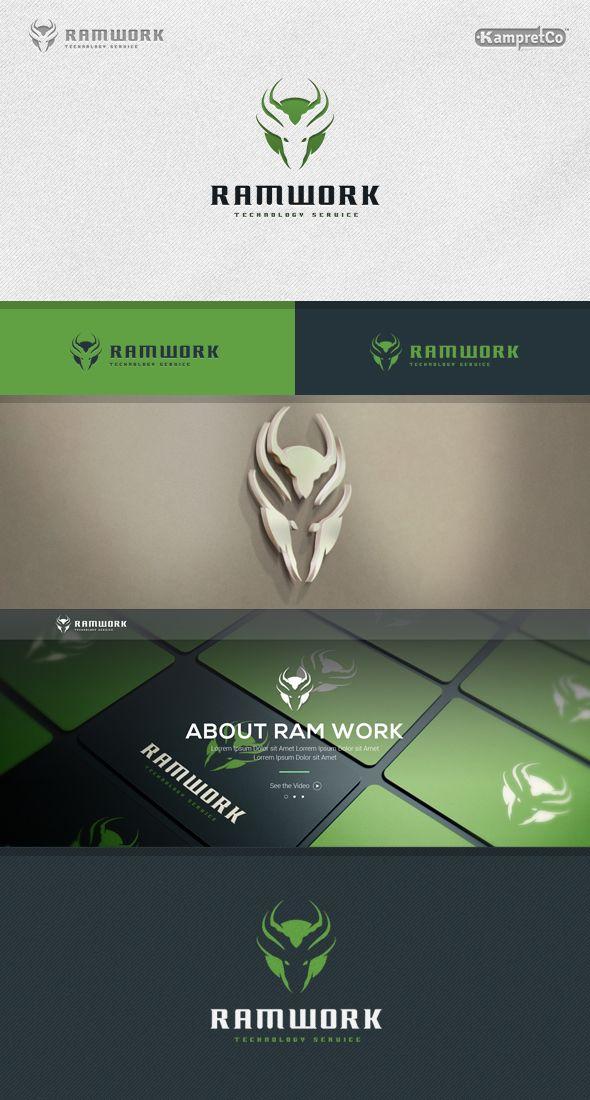 Ram Work Logo on Behance