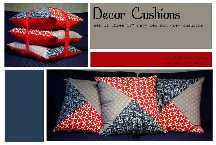 Decor Cushions - by redcherrypatternco on madeit