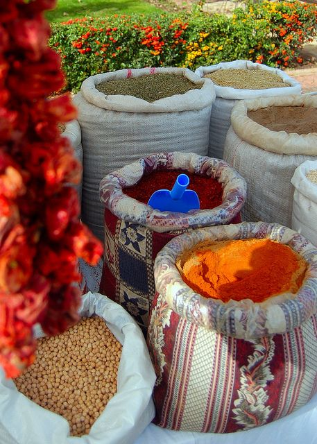 Turkish spices and herbs