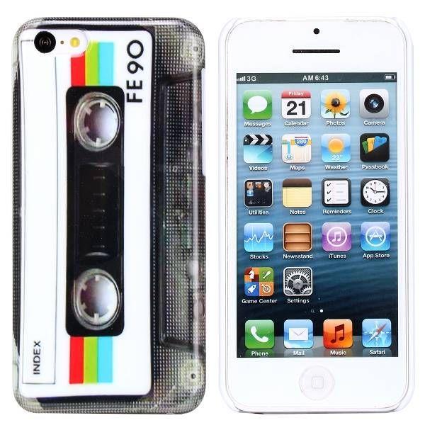 Cassettebandje hardcase hoesje iPhone 5C