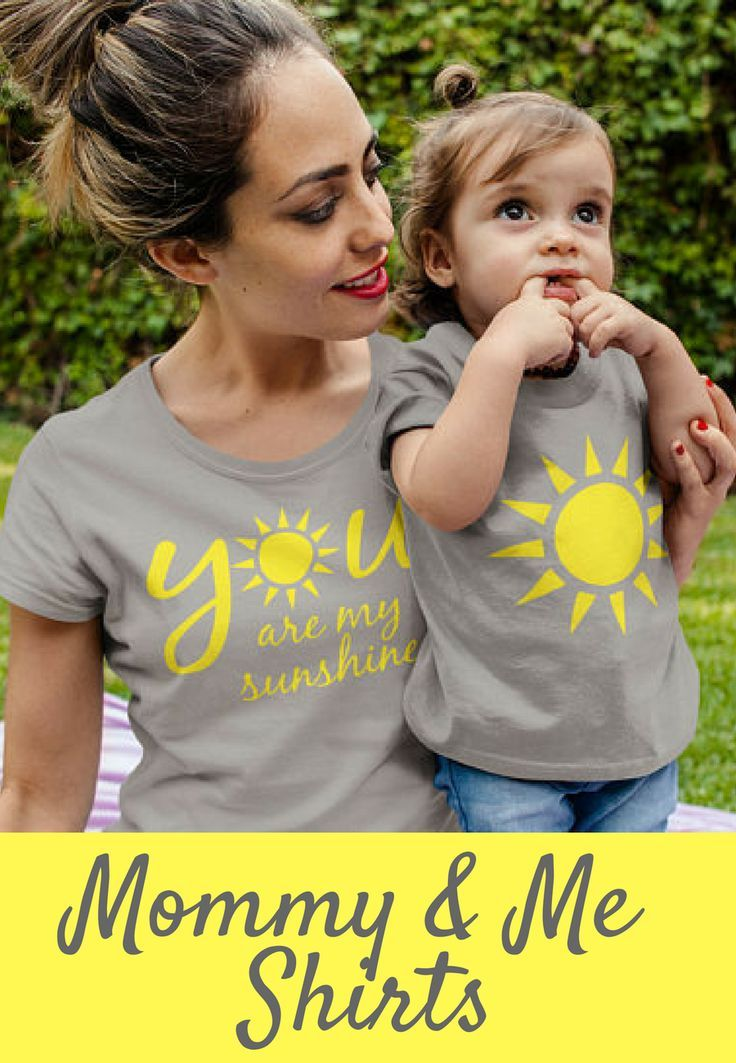 8bfceb93c7cc Mommy and Me Shirts Set - You Are My Sunshine Mommy and Baby Set #affiliate