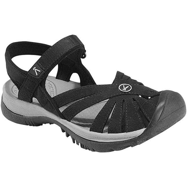 Keen Rose Sandal in Black $84.95 at www.shoemill.com/keen #sandals