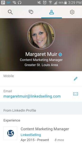 Have you tried LinkedIn Lookup yet? This latest app from LinkedIn aims to replace your employee directory http://linkedselling.com/linkedin-lookup-replacing-your-companys-employee-directory/