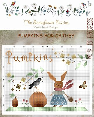The Snowflower Diaries: Pumpkins for Cathey *freebie*