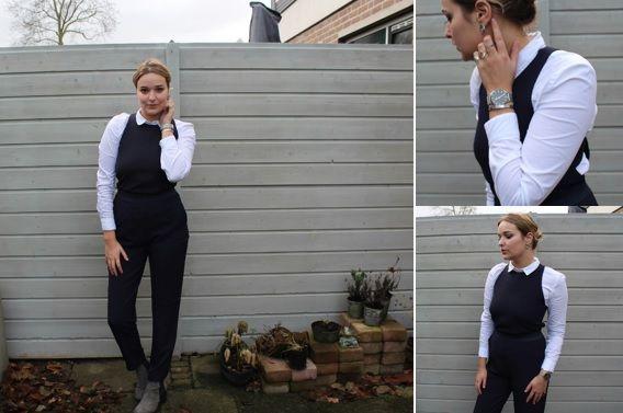 Jumpsuit combineren met andere kleding. Lees alle tips van Ella over het dragen van één jumpsuit op 7 verschillende manieren in haar blo....