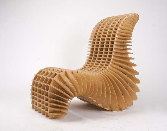 Cnc Chair Parametric Design Pinterest