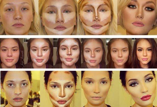 """Hovorí sa, že kontúrovanie tváre je """"photoshop"""" v líčení. Dokáže perfektne zakryť nedokonalosti, zvýrazniť črty..."""