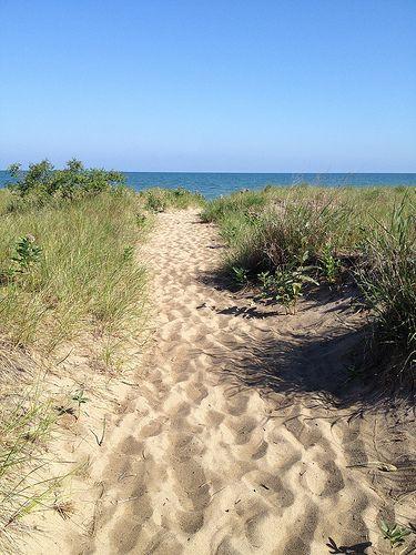 #Mentor Headlands #Beach Park on Lake Erie in #Ohio