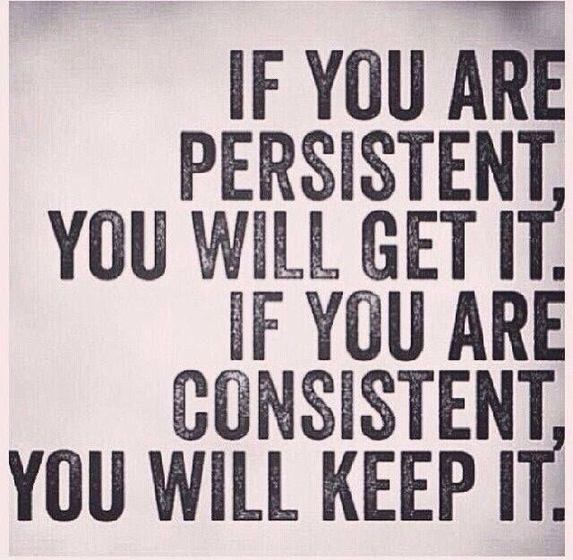 Persistent | Consistent