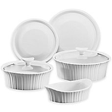 image of CorningWare® French White® 7-Piece Bakeware Set