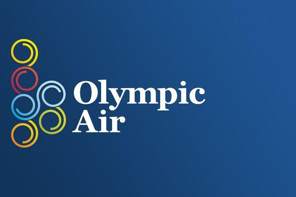 Olympic Air Logo Proposal by Spyros Gangas, via Behance