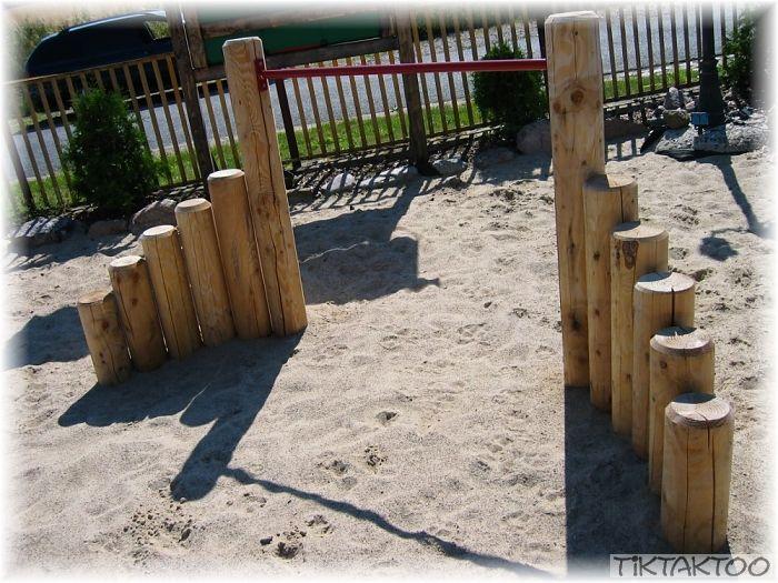 Turnreck Reck Reckanlage Turnstange Reckstange Klettergerüst Garten Lärche Holz | eBay