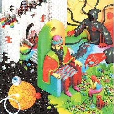 Unkle Funkle - Supernatural - LP Burger Records