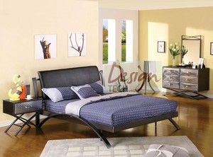 Details about 4 PC Kids Boys Teen Bedroom Set Twin Full Queen Bed Dresser  Chrome Metal Modern Best 25 bedroom sets ideas on Pinterest Boy bedrooms Wall