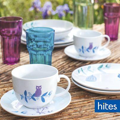 Dale vida a tu mesa con diseños atractivos y colores alegres.