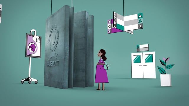 Hundreds of pregnant women in the UK are unable or afraid to see a doctor and get the healthcare they need. This is a short animation about medical charity Doctors of the World's vital work with these women.  Directed by MatthiasHoegg Produced by Not To Scale London Sound Design by Marian Mentrup  https://www.doctorsoftheworld.org.uk/