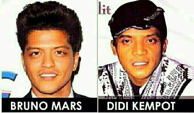 Bruno Mars, Didi Kempot?