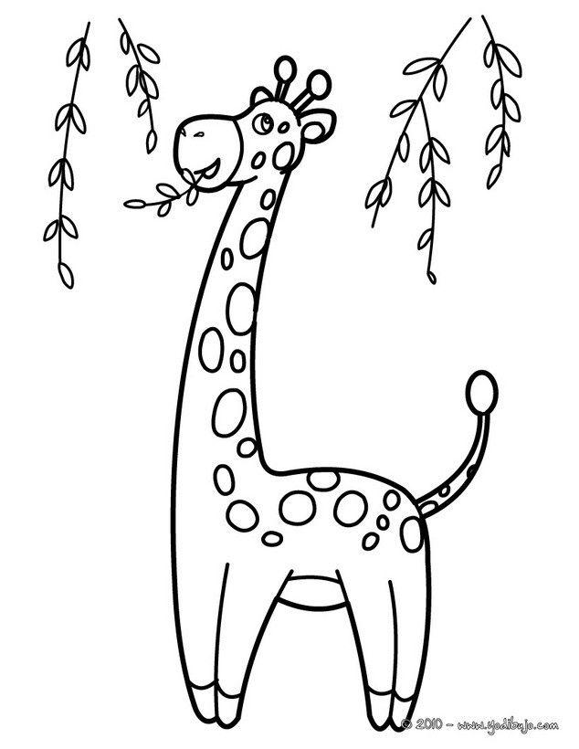 Dibujos Para Colorear Jirafas Infantiles Busca De Google Giraffe Coloring Pages Animal Coloring Pages Coloring Pages