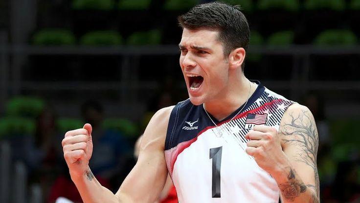 Matt Anderson (United States of America) - Men's Indoor Volleyball