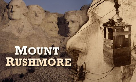 Who would be bold enough to carve on a cliff face, blasting stone with dynamite, working with equipment that weighed half as much as you did? Meet the Keystone boys, the crew behind Mount Rushmore.