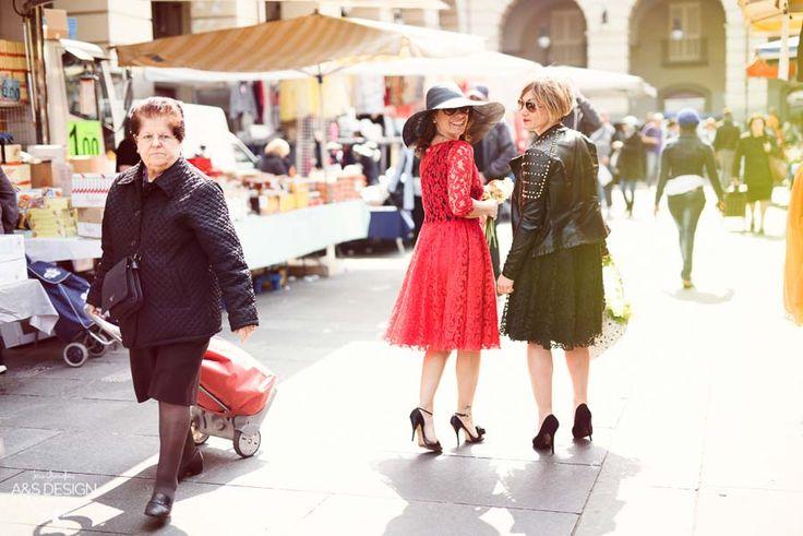 Al mercato, con stile. Porta Palazzo   My Ta Editorial Photography + PostProduction: Sara Grandieri Stylist: Tamara Milia Flower Designer: Corinna Brilli - ULTRAViOLET