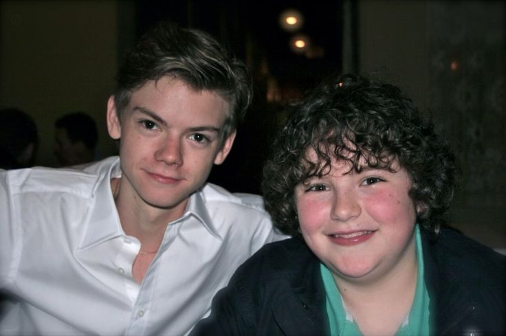 Blake Cooper and Thomas Brodie Sangster | Thomas Brodie ...