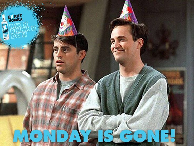 monday is gone!