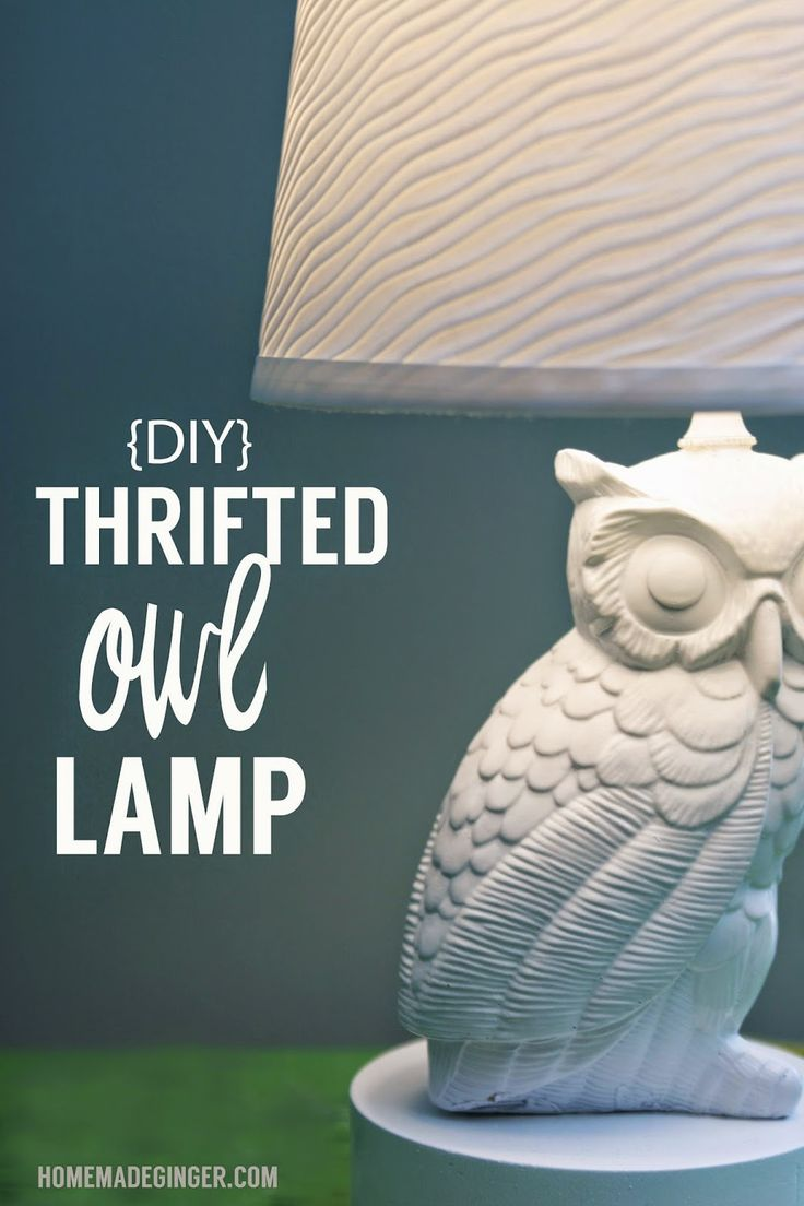 buy dresses online Turn an ugly thrift store owl into a kitschy and modern lamp