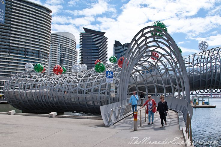Christmas Decorations In Melbourne - Day Walk