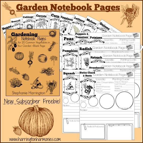 25 best garden journal ideas on pinterest garden. Black Bedroom Furniture Sets. Home Design Ideas