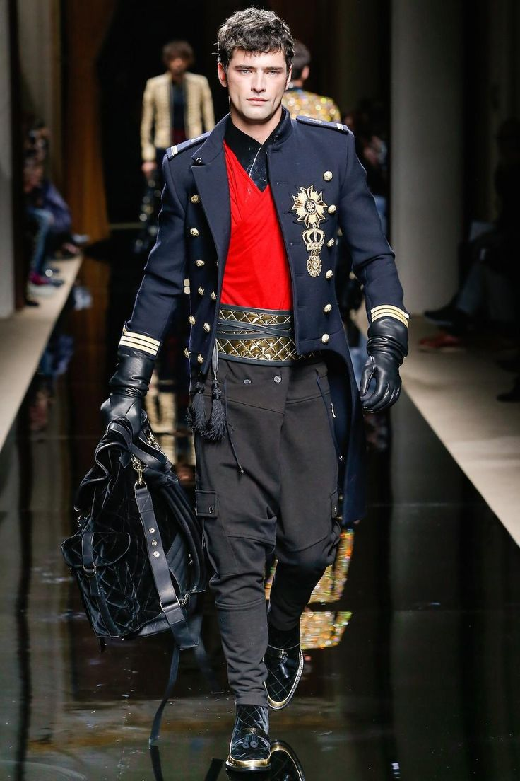 Balmain Brings in the Cavalry for Its 2016 Fall/Winter Collection: The  military-inspired theme is still strong this year.