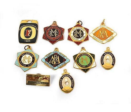 Badges, Medallions Etc. - Stokes & Sons - Carter's Price Guide to Antiques and Collectables