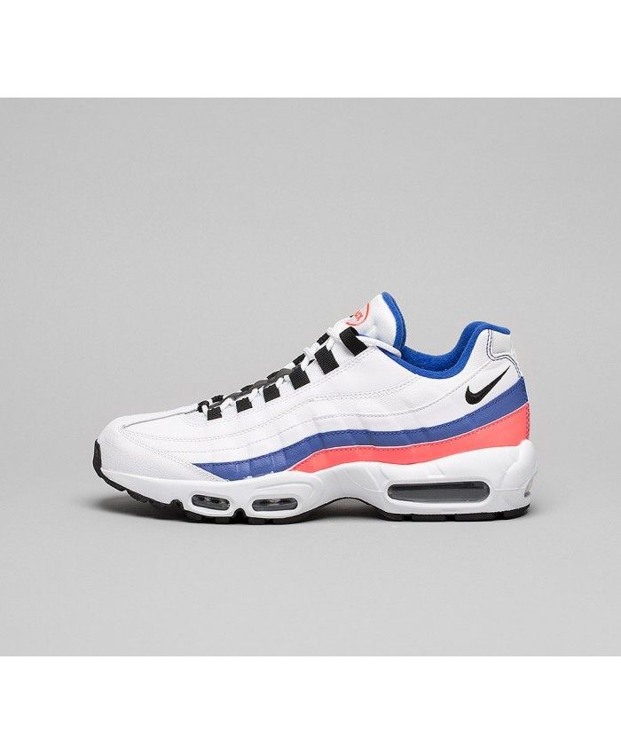 various colors 6f8bb baef9 Nike Air Max 95 Essential Chaussures Blanc Bleu Noir Rouge