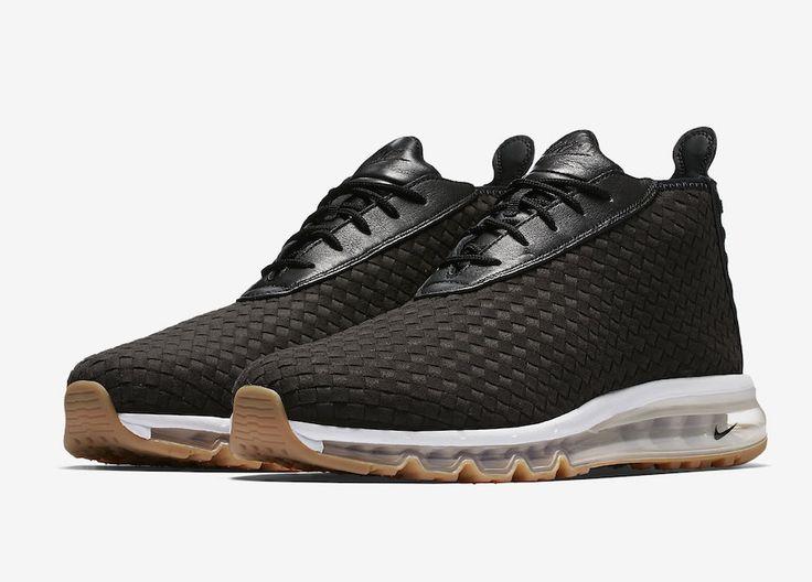 http sneakerscartel nike air max woven boot black gum