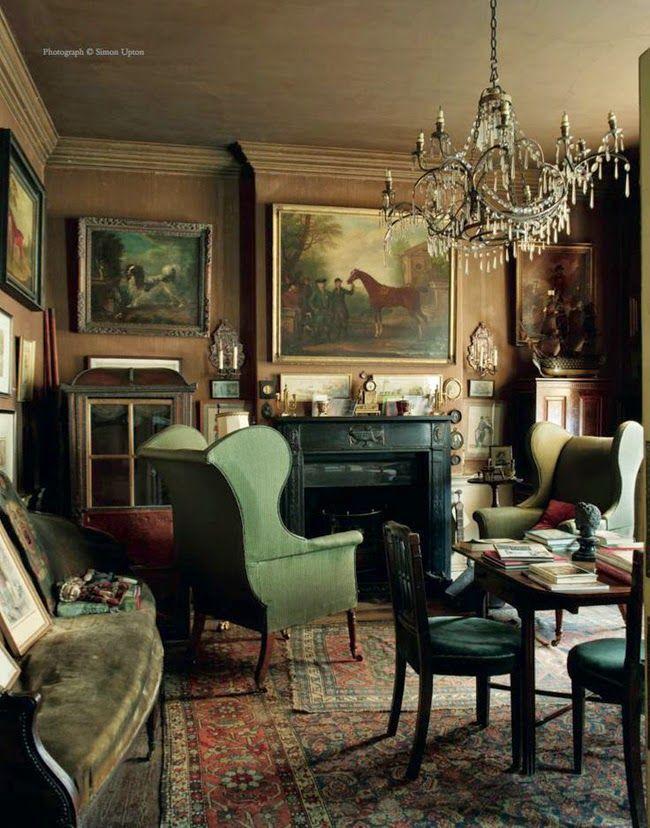 LIVING IN DESIGN: SIR ALBERT RICHARDSON: UNA CASA CON HISTORIA