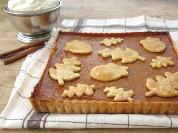 Американский тыквенный пирог на День благодарения