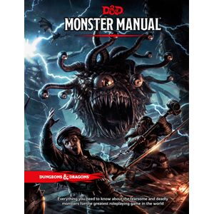 D&D 5E: Monster Manual - $49.95 - A necessary resource for any tabletop Dungeon Master!