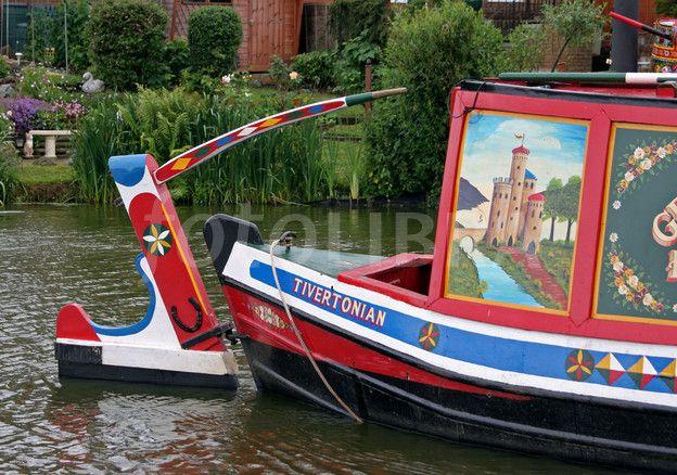 narrow boat...
