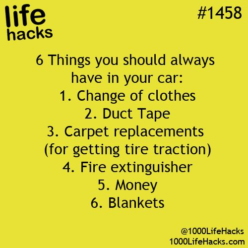 1000 Life Hacks: #3, tire traction... not to remove DNA from the 'dead body'! Lol