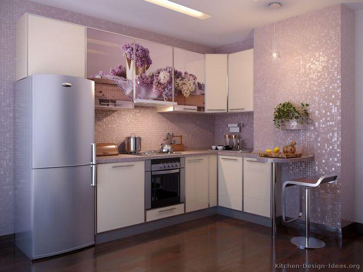 37 best purple kitchens images on pinterest | kitchen, kitchen