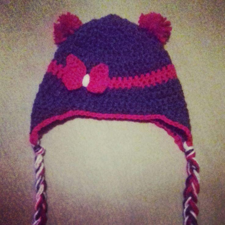 Gorrito para niña tejido crochet