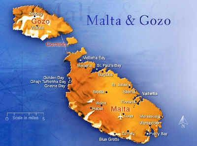 Malta & Gozo, Mediterranean Islands