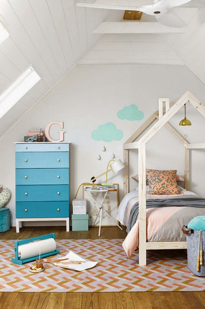 Интерьеры детских комнат в скандинавском стиле:Designverona