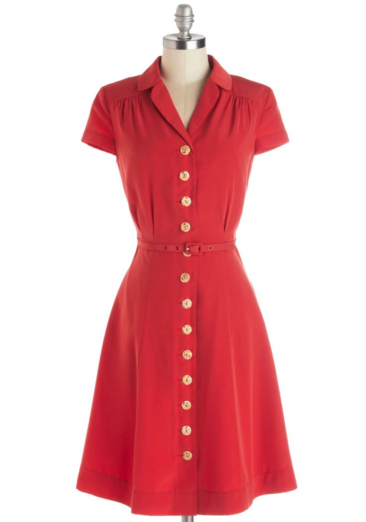 Clothing: 1940s Sector dress.