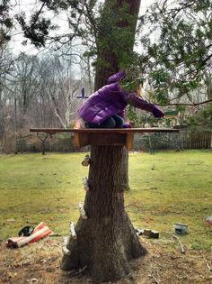 Simple Tree House | DIY Backyard Projects To Try This Spring | DIY Projects