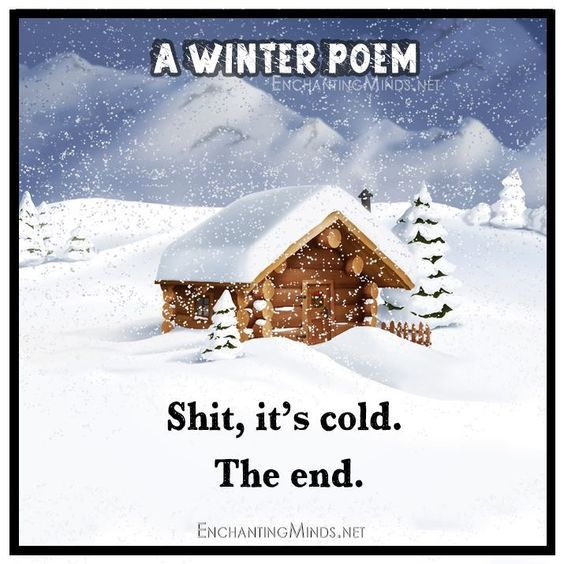 Funny Cold Pics